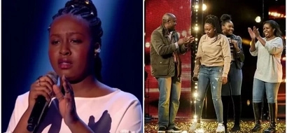 Girl, 16, with Kenyan roots DAZZLES Britain's Got Talent show in semi-final performance (photos, video)
