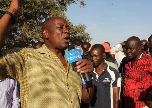 House of Karachuonyo MP James Rege under police protection