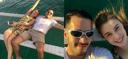 Sunshine Cruz and Macky Mathay share their lovely photos from their Boracay trip