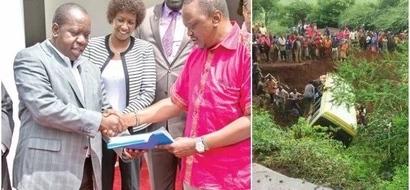 Uhuru sends Matiang'I to Tanzania for a SAD occasion