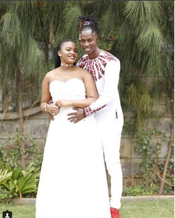Gospel singer Ljay Maasai unveils stunning wedding photos 1 year after secret wedding