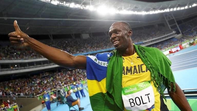 Special friendship between Vivian Cheruiyot and Usain Bolt