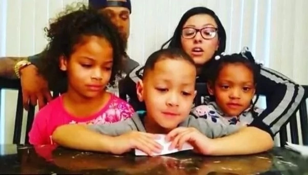 Quis and his wife Chaela share their kids' antics on YouTube. Photo: Instagram/quisandchaela