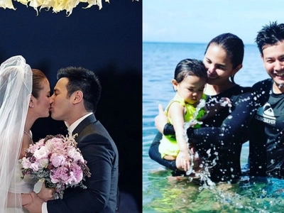 Isabel Oli and John Prats exchange sweet messages on Instagram on their 2nd wedding anniversary