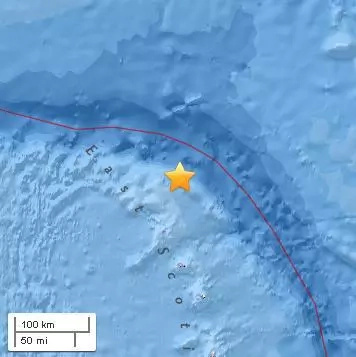 Another quake: Magnitude 5.9 in South Georgia