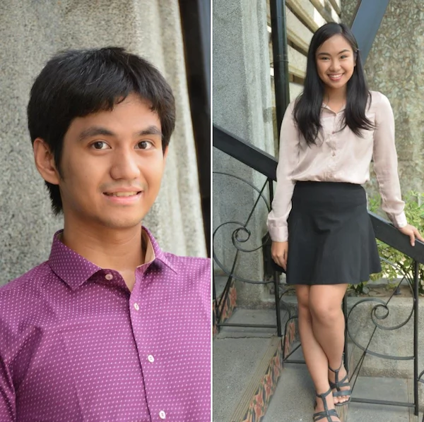 Two UP students graduated with honors by being in a relationship throughout college