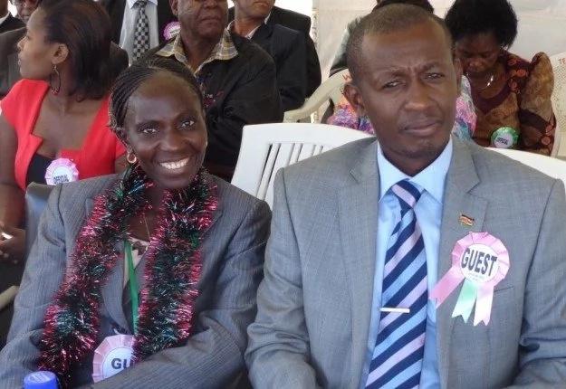 Catherine Ndereba and her husband Anthony Muhia Maina