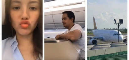 Bongga ng lifestyle nila! Ellen Adarna shares video of bonding moments with John Lloyd Cruz inside an airplane