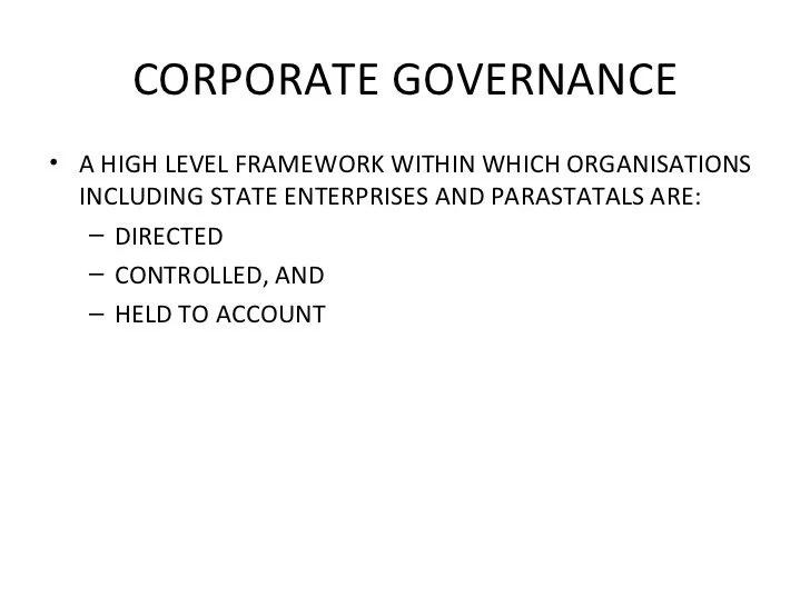 Full List of Parastatals In Kenya