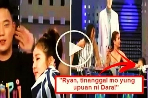 Watch Sandara Park suffer a shocking accident on 'It's Showtime!' Kasalanan ba ni Ryan Bang?