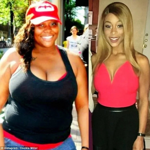 She now weighs a healthy 63kg after having lost a whopping 45kg