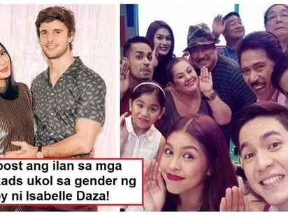 Na-reveal na sa wakas ang kasarian? 'Eat Bulaga' hosts post about gender of pregnant Isabelle Daza's baby