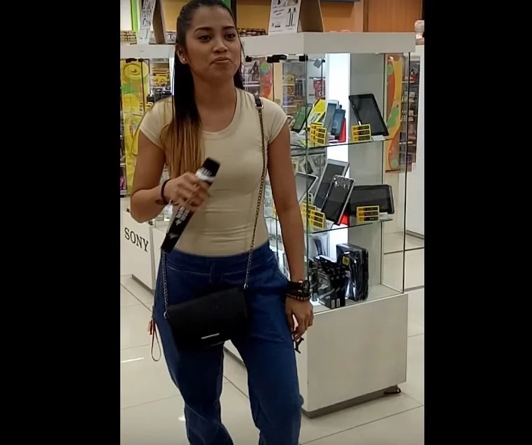 Eumee Capile shocks netizens with viral video of her singing in a mall