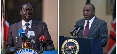 Raila atofautiana na Uhuru kuhusu uteuzi wa polisi wa ngazi za juu