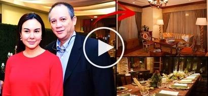 Tahanan ng tunay na Don at Donya! Take a tour inside the extravagant mansion of Gretchen Barretto & Tonyboy Cojuangco!
