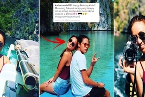 Kathryn Bernardo celebrated her birthday with an extravagant getaway at Palawan with Daniel Padilla! Her vacation photos will definitely stun you!
