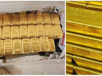 KRA officials intercept gold worth KSh 100 million at JKIA