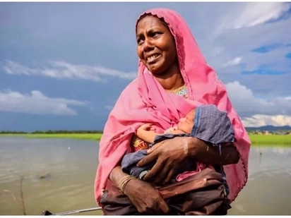 Heartbreaking! Rohingya refugee narrates how she gave birth in a jungle while fleeing persecution