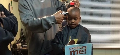 This Barbershop Returns Money To Children On One Condition – If They Read Out Loud