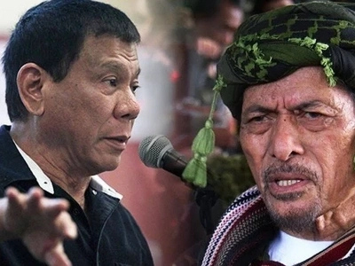 Iba talaga si Duterte: President gives powers to MILF leader to negotiate with Abu Sayyaf terrorists