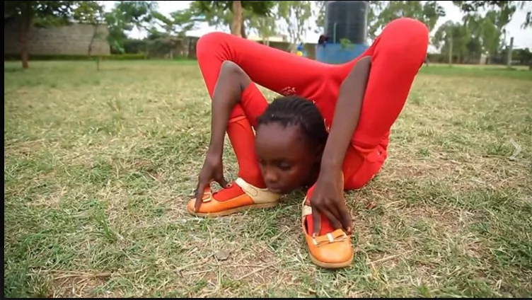 Jaw-dropping video of young girl doing the unimaginable