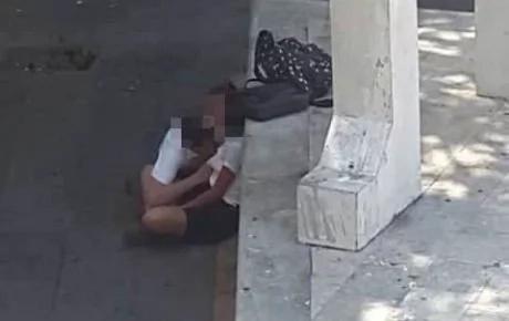 Captan a estudiantes mexicanos teniendo sexo oral en la calle