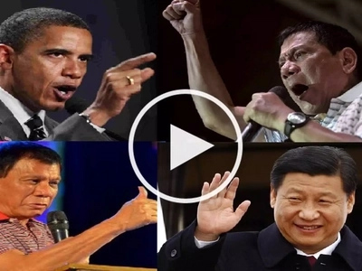 Unpredictable Duterte slams the US but praises China during speech