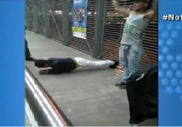 Mira la curiosa sanción impuesta a colados en estación de bus