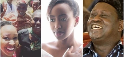 Janet Mbugua spotted in Raila Odinga's stronghold and this is what she was upto