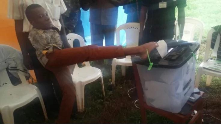 Ukarimu wa Rais Uhuru: Bwana mlemavu apokea msaada mkubwa ambao hakuutarajia