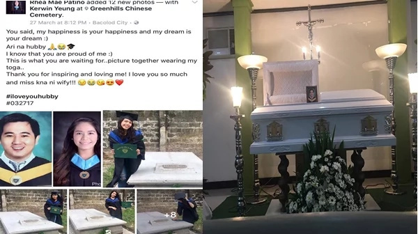 """I wish heaven had a phone so I could hear your voice again."" This girl shows undying love for her boyfriend even after life took his last breath!"
