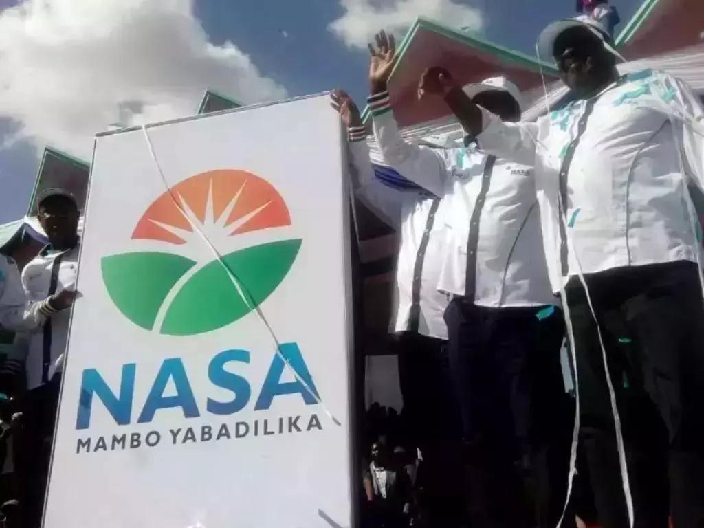 NASA haitakuwa katika makaratasi ya kupigia kura wakati wa Uchaguzi Mkuu