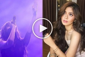 Loisa Andalio makes netizens fall in love with her more through this 'Versace on the Floor' cover
