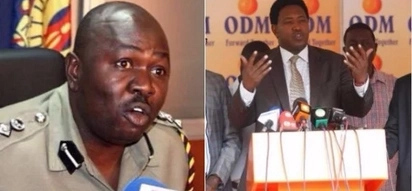 Assistant Inspector-General of Police and NASA senator almost go for each others neck on live TV