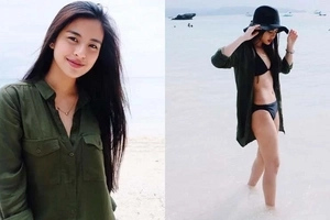 Ang sexy! Gabbi Garcia gives us a glimpse of her natural beauty and hot bod