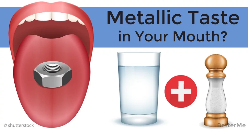 Top health ways to get rid of a metallic taste in your mouth
