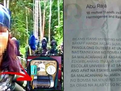 Abu Sayyaf issues terrifying threat to schools near Malacañang Palace