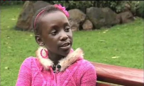 Cancer survivor, Rose Nasimiyu, now a beautiful teenager