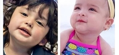 Possible love team? Baby Zion finally meets Baby Zia!