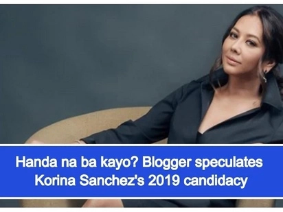 Sasabak na sa pulitika? Korina Sanchez allegedly eyes government position