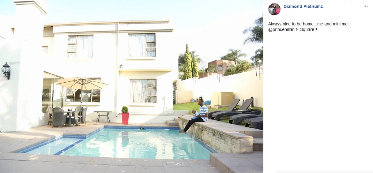 Diamond Platnumz house