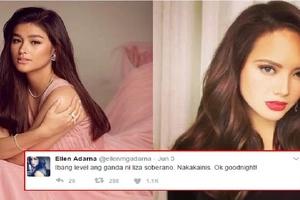 """Ellen Adarna to Liza Soberano… """"Nakakainis. Ok goodnight!"""""""