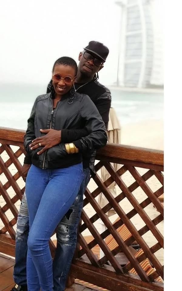 Singer Nameless lights up the internet with a wonderful message to his wife Wahu