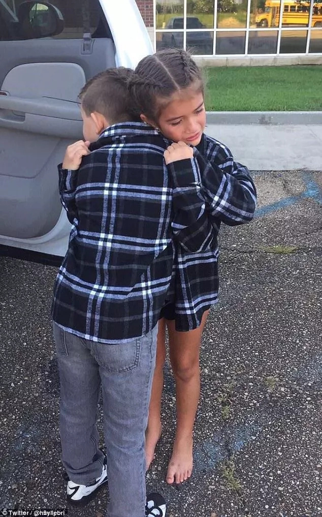 Inseparable 9-year-old couple melts many hearts with their tearful goodbye as one is forced to move away