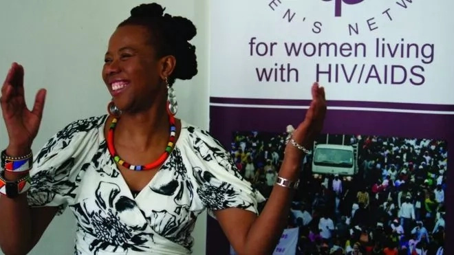 She was a brave and determined South African HIV campaigner. Photo: UNAIDS