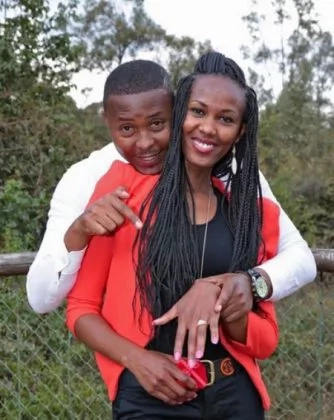 Kenyan gospel singer proposes to his lover in a beautiful surprise (photos)