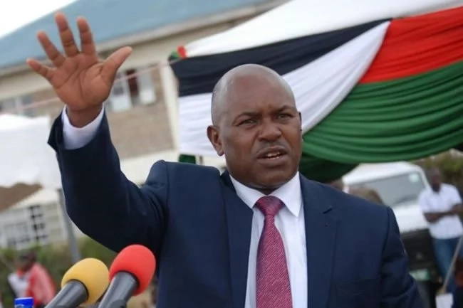 """Failure"" former interior CS beats criticism for the Jubilee Kajiado ticket"