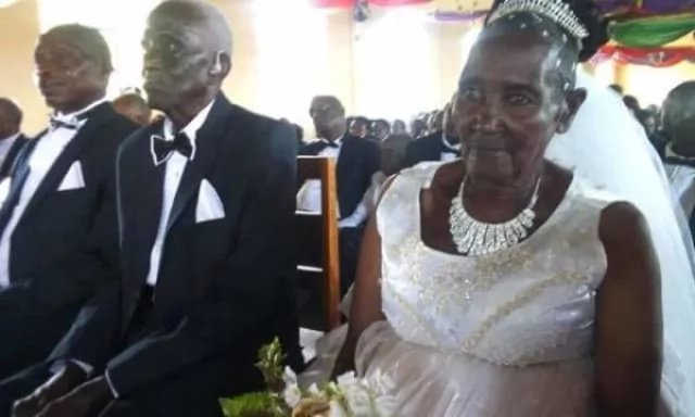 Story of Ugandan virgin, 83, who wed a 90-year-old father of 10 goes viral
