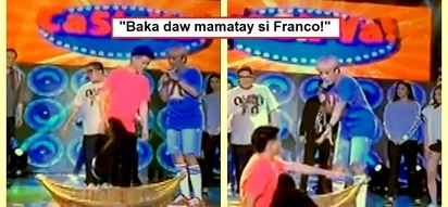 Masamang pangitain daw? This video of Franco Hernandez's moment on 'It's Showtime' freaks out netizens
