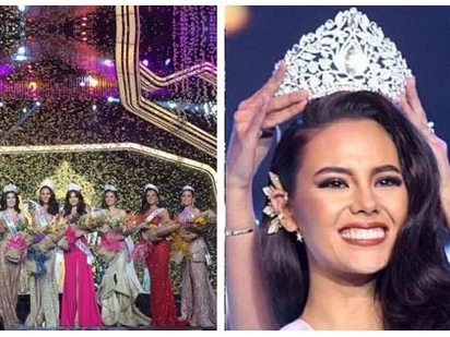 Siya ang nagwagi! Catriona Gray is the crowned winner of Binibining Pilipinas 2018